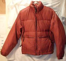 Burton Heaters Red Down Puffer Winter Jacket/Coat Womens Size Medium
