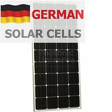 150W 12V solar panel with 5m cable for camper / caravan / boat 150 watt module