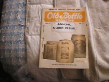Old Bottle Magazine Annual Guide Issue June 1971