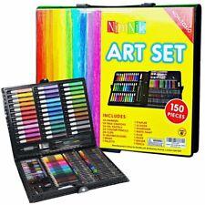 Art Sets For Kids Girls Boys - 150 Piece Creativity Drawing Art Studio Gift Case