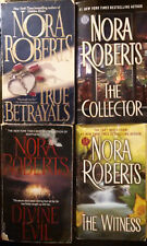 Nora Roberts: Lot of 4 Paperbacks