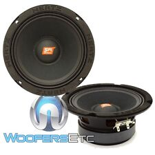 "HERTZ SV165.1 6.5"" SPL SHOW 400W COMPONENT 4 OHM MIDRANGE CAR AUDIO SPEAKERS NEW"
