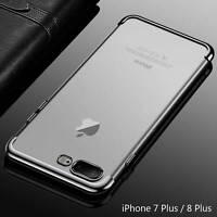 Housse Etui Coque Bumper Case Cover Apple iPhone 7 Plus / 8 Plus couleur Gris