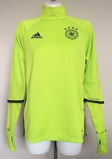 GERMANY EURO 2016 L/S TRAINING TOP BY ADIDAS ADULTS SIZE ADULTS EXTRA SMALL NEW
