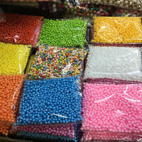 HOT!!! Assorted Colors Polystyrene Styrofoam Filler Foam Mini Beads Balls Crafts