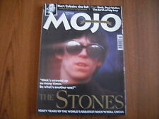 MOJO MAGAZINE - OCTOBER 2002 - THE ROLLING STONES