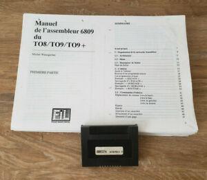 RARE Thomson ASSEMBLEUR 6809 v2.0 cartouche TO8 TO9 TO9+ (1986)
