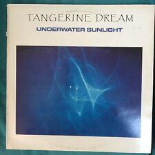 TANGERINE DREAM UNDERWATER SUNLIGHT VINYL LP JIVE ELECTRO ORIGINAL1986 PRESSING