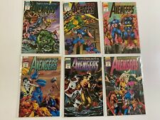 Official Marvel Index to the Avengers set #1-6 8.0 VF (1994)