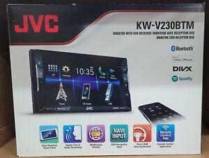 "JVC KW-V230BTM 6.2"" Touchscreen 2-Din DVD Player Receiver w/ Bluetooth Brand New"