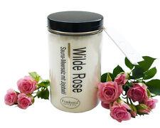 Sauna Salz wilde Rose Meersalz mit Jojobaöl Körperpeeling 400g