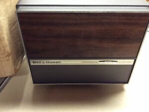 Bell & Howell 456 Super 8 / 8mm Film Dual Movie Projector Works w/ Box