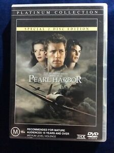 Pearl Harbor - Region 4 DVD - Great Condition - 2 Disc Edition - FREE POST