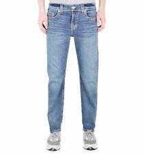 TRUE RELIGION Men's Blue Denim Jeans Geno Slim Fit Super T W33 BNWT RRP229