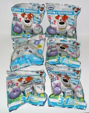 RADZ FOAMZ CANDY & DISPENSER THE SECRET LIFE OF PETS 2 LOT OF (6) BLIND BAGS