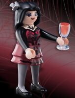 Playmobil Mystery Figure Series 10 6841 Vampire Goth Dracula Glass w/ Blood NEW
