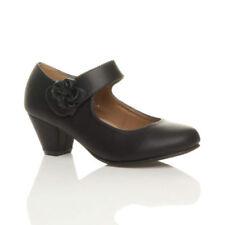 Calzado de mujer de tacón medio (2,5-7,5 cm) de piel sintética Talla 38