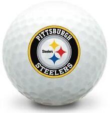 1 Dozen Titleist Pro V1x Mint Pittsburgh Steelers NFL LOGO Collectors Golf Balls