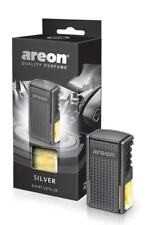 Areon car Vent-clip Perfume Silver. Classic fragance. Car Air Freshener