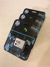 Lot of 4 Genuine HP 932 Black Ink Cartridge Exp 2018-2020 NEW Factory Sealed