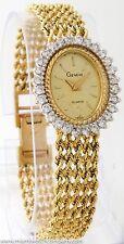 Ladies Geneve Watch in 14K Gold w/ Diamond Bezel - Quart Movement