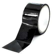 Premium BDSM 15m Bondagetape / Schwarz / Fesseln / 5cm breit von marielove NEU