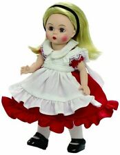 Alice in Wonderland in Red Dress  #66985  8'' Madame Alexander Doll, New