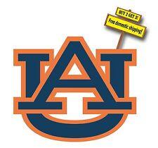 Auburn Tigers AU Football Decal/Sticker Free Shipping Buy 2  get 3rd free p117