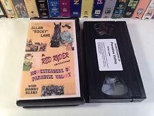 Homesteaders Of Paradise Valley Rare Red Ryder Western VHS 1947 OOP Allan Lane