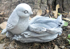 latex only bird w nest plaster concrete mould casting garden rubber mold