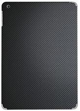 Hellfire Trading Black Carbon Fibre Vinyl Back Sticker Wrap for iPad 5 Air