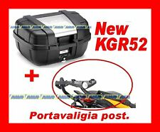 KAWASAKI VERSYS 650  2015 2017 VALIGIA BAULETTO KGR52 + PORTAVALIGIA SR4114 + M5