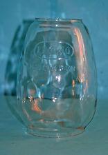 Glas Zylinder FROWO Petroleumlampe Globe Kerosene Lamp Lantern 14,5cm Feuerhand