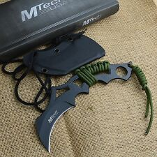 "MTech 8"" Modified Karambit Tactical Fixed Blade Knife MT-20-20T"
