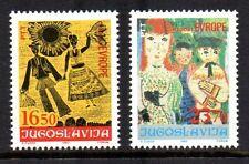 Yugoslavia - 1983 European child meeting Mi. 2002-03 MNH