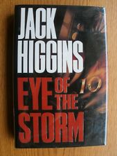 Jack Higgins Eye of the Storm SIGNED book plate 1st ed UK HC