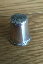 Sterling Silver Thimble, solid silver 925, Manchester, mint condition.
