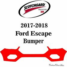 3M Scotchgard Paint Protection Film Clear Bra Pre-Cut 2017 2018 Ford Escape