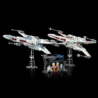 LEGO 75218 9493 X-wing Starfighter - Custom Display Stand & UCS Plaque