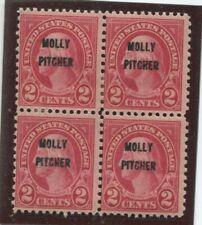U.S. Stamps Scott #646 Block of 4,MINT,H (4stamps),Fine (X7527N)