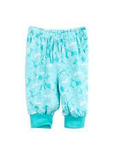 Girls Pumpkin Patch 3/4 Drape HAREM Pants Size 6 Aqua Green