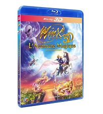 Winx Club 3D : L'Aventure magique - Blu-ray 3D active ~ Tedd Dillon - NEUF - VF
