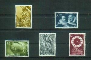 Älterer Satz Briefmarken aus den Niederlanden, MI 774-778, postfrisch