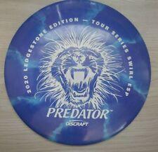 Discraft Predator Esp 2020 ledgeStone Driver - Blue Swirl Esp white stamp 173g
