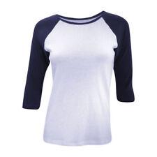 Magliette da donna maniche a 3/4 con girocollo taglia L
