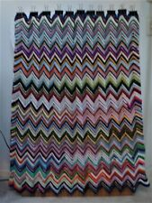 Crocheted By Me Afghan Parti-Colored New 45X43
