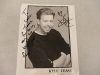 Kyle Cease Autograph Actual Signature Signed Comedian Actor Photo