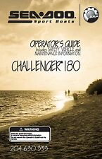 Sea-Doo Owners Manual Book 2005 CHALLENGER 180