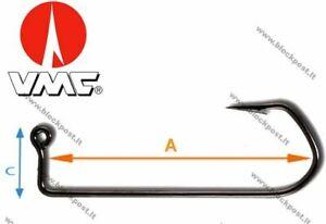 VMC Jig Hook Barbarian Black 7150 BN /// 100 PCS. DIFFERENT SIZES