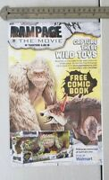 Rampage The Movie Toys RARE Print Advertisement